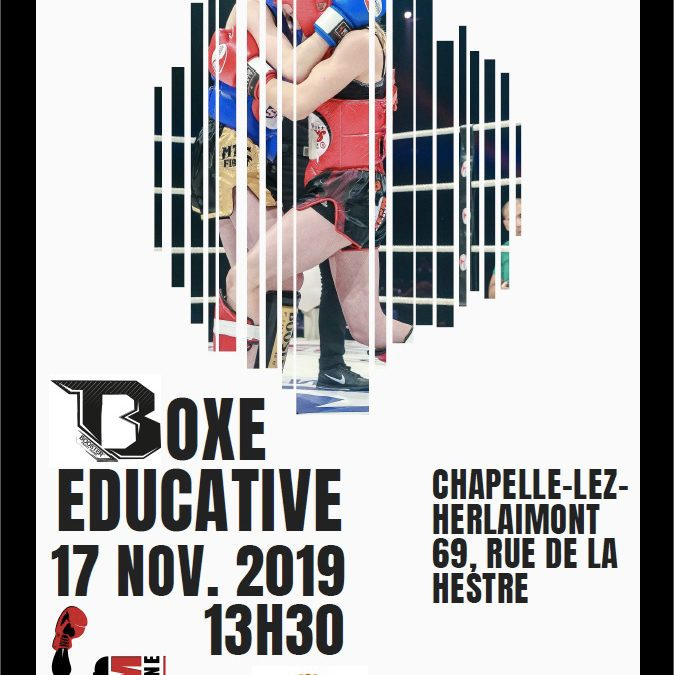 Boxe éducative 17 nov 2019